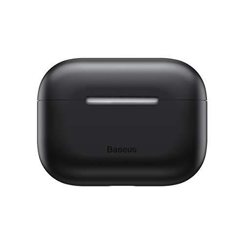 Capa Case Airpod Pro Porta Fone Silicone Baseus Original Preto