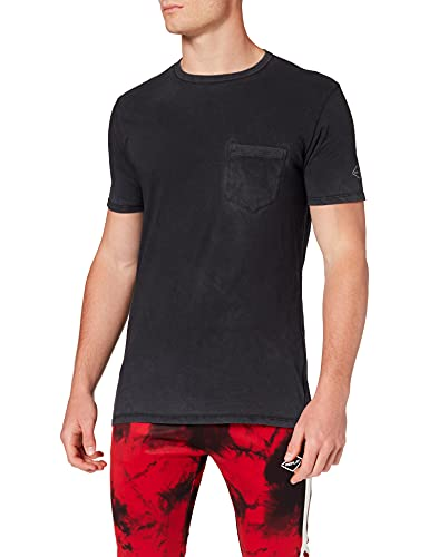 REPLAY M3185 Camiseta, 998 Blackboard, L para Hombre