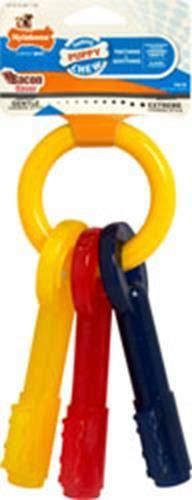 Nylabone Just for Puppies Key Ring Bone Puppy Dog Teething Chew Toy