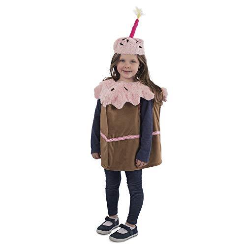 Dress Up America Disfraz de cumpleaños para niños, Talla 3-6 años (Cintura 66-76, Altura 91-114 cm), Unisex Adulto