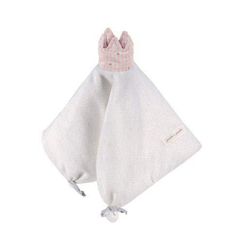 Pasito a pasito 73606 - Doudou, diseño vichy rosa petite etoile