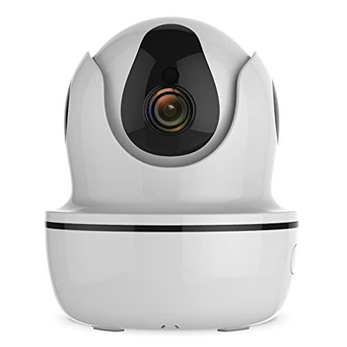 Cámara De Monitoreo De Wifi De 1080P, Visión Nocturna Infrarroja Monitor De Bebé Intercomunicador Voz Detección De Movimiento De Grabación De Video Rotación De 360 Grados (Sin Tarjeta De Memoria)
