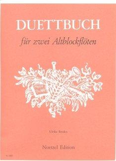 DUETTBUCH - arrangiert für zwei Altblockflöten [Noten / Sheetmusic] Komponist: EMDEN ULRIKA