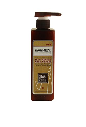 Saryna Key Pure African Shea Cream Leave in Moisturizer - Damage Repair 500ml/16.94oz
