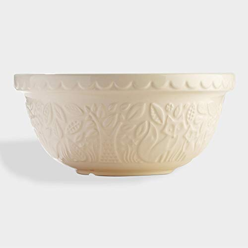 Large Mason Cash Cream Fox Ceramic Mixing Bowl