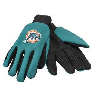 Miami Dolphins Work Gloves