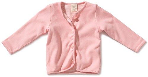 LANA natural wear Unisex - Baby Jacke 900 3001 5013 Jacke Milou, Gr. 62/68, Rosa (puder)