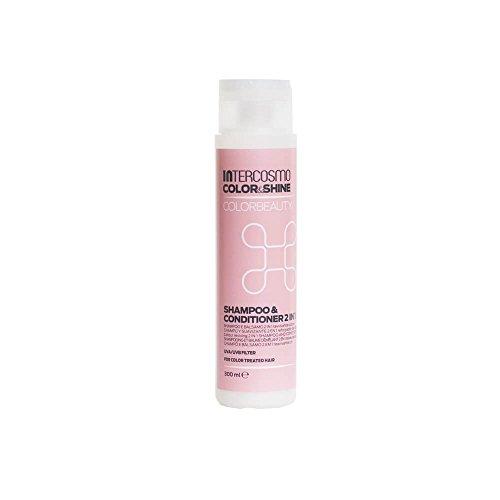 Shampoo y Acondicionador 'Intercosmo Color&Shine', que mantiene la belleza del color, 300 g