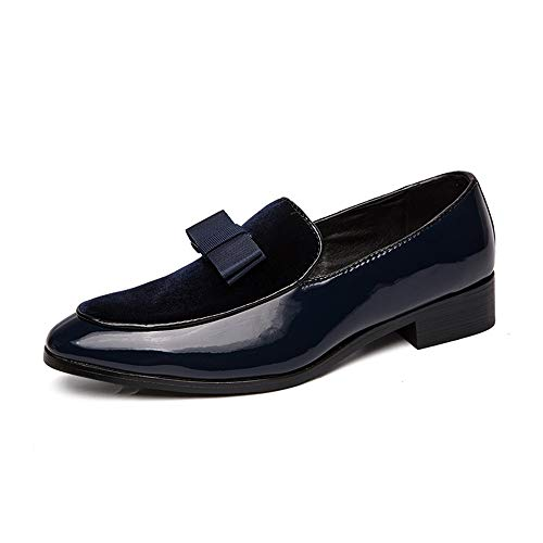 Herenschoenen voor de lente, zomer, herfst, winter, Oxford, met ronde punt, elegant, van suède, voor patenteeren, casual, formele schoenen zonder veters.