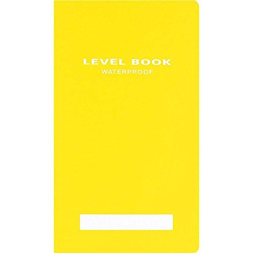コクヨ レベルブック〈ブライトカラー〉黄 耐水タイプ 30枚 PP表紙 セ-Y31Y 1冊