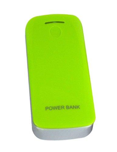Digimate, Carcasa vacía para actualización de baterías 18650, puerto USB verde, batería externa, batería externa, batería externa, batería externa, batería externa, cargador para smartphones, teléfonos Android, tabletas, iPad, iPhone, teléfono móvil, PSP, GoPro, GPS