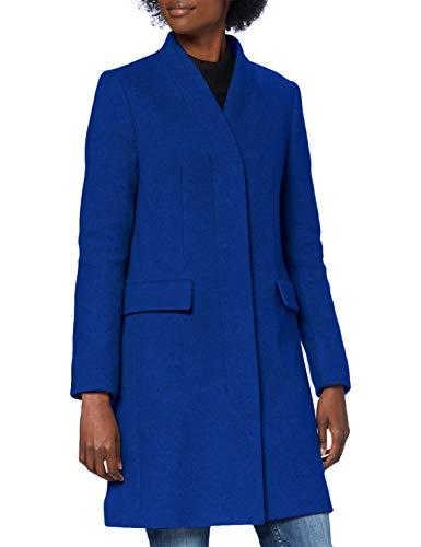 BOSS Damen C_Cojulie Wollmischungs-Mantel, Light/Pastel Blue451, 38