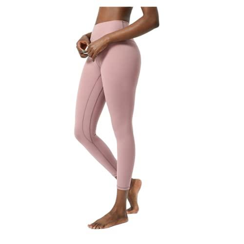 QTJY Leggings de Fitness para Mujer Sexy, Push-up Gym, Cintura Alta, Levantamiento de Cadera, Damas, Pantalones de Yoga elásticos sin Costuras E Medium