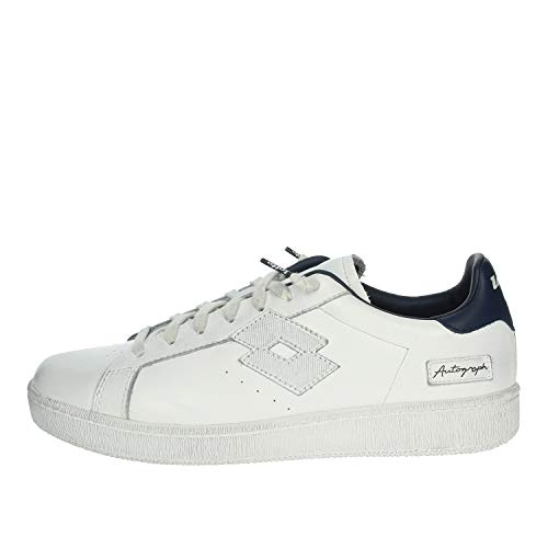 Lotto Sneaker Uomo Autograph 214020 5LS Snow White Dress Blue PE20 45
