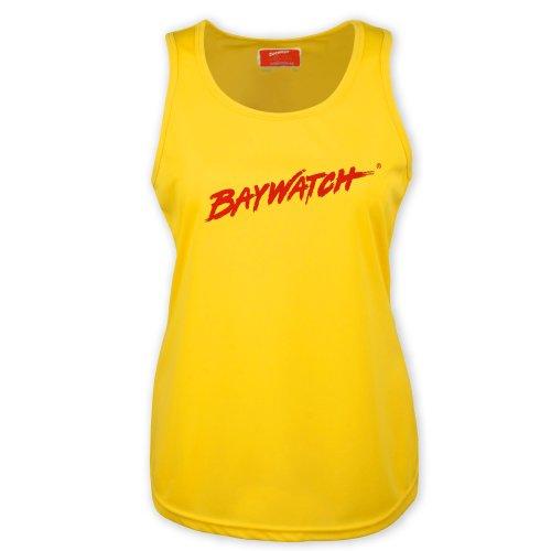 Lifeguardgear Damen Cooltex Weste, Lizenzprodukt Baywatch, gelb Gr. X-Large, gelb