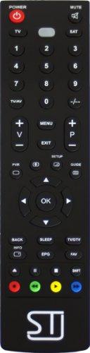 ST Ersatzfernbedienung passend für Modell Cinex TV 55321