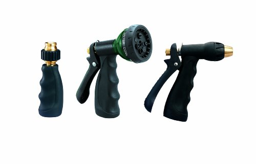 Orbit 3-Piece Hose Spray Nozzle Set 58594