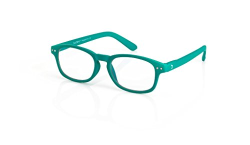 Blueberry Computer Glasses - S -Green - Clear Lens- (Peppermint,Clear)