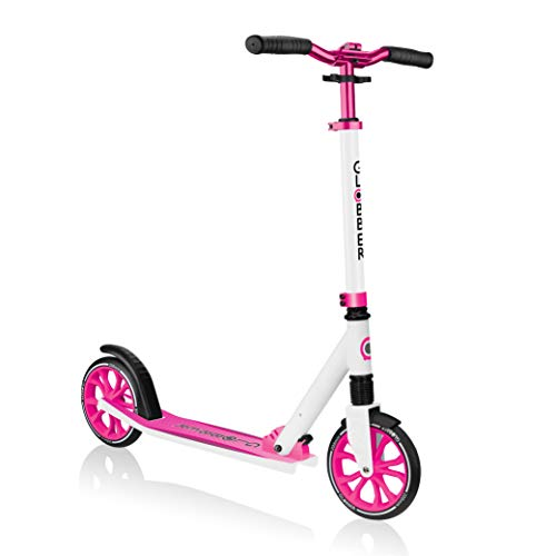 %25 OFF! Globber NL 500-205 2-Big Wheel Quick Folding Kick Scooter - Reflective and Adjustable Heigh...