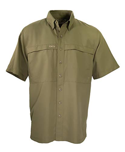 GameGuard Outdoors Microfiber Shirts Olive