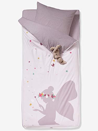 Vertbaudet 3-teiliges Schlafsack-Set,Fee für Kinder zartrosa 90x140