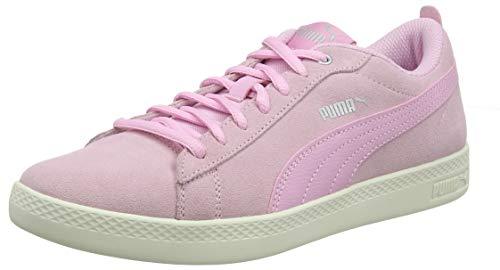 Puma Damen Smash WNS v2 SD Sneaker, Pink (Pale Pink-Puma Silver-Whisper White 15), 39 EU