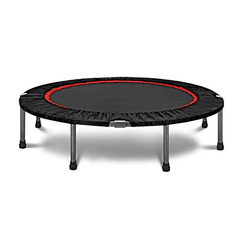 Dybory Mini Fitness Trampoline, Pro Folding Bungee Rebounder Trampoline, Silent & Beautifully Engineered, Professional for Adults & Kids,witout handrail