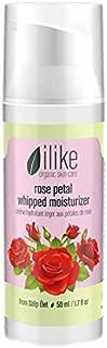 ilike Organic Skin Care Rose Petal Whipped Moisturizer