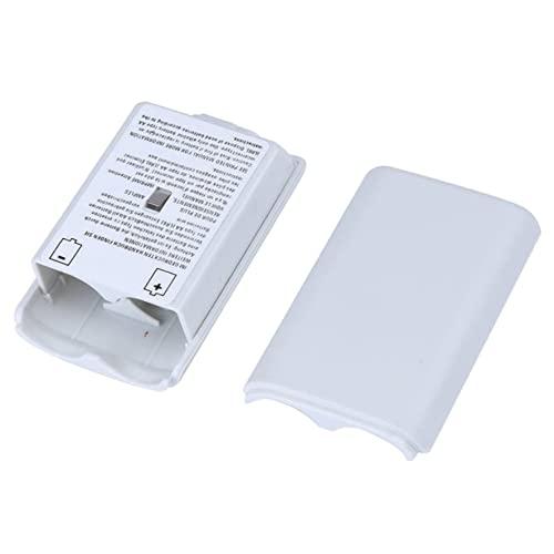 Genérico Tapa de Las Pilas (batería) para Xbox 360 Blanca