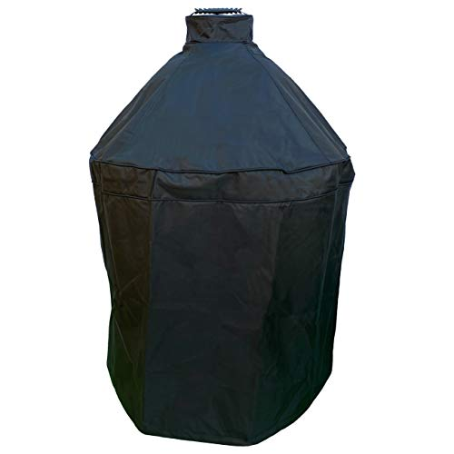 TUFFDURA Grill Cover for Big Green Egg, Kamado Grill Cover, Big Green Egg Accessories, Kamado Cover, Durable Grill Cover, Waterproof Fabric, Fits Large and X-Large, Cover for Kamado Joe
