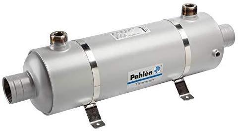 well2wellness - Intercambiador de Calor (40 kW, Titanio, Inc