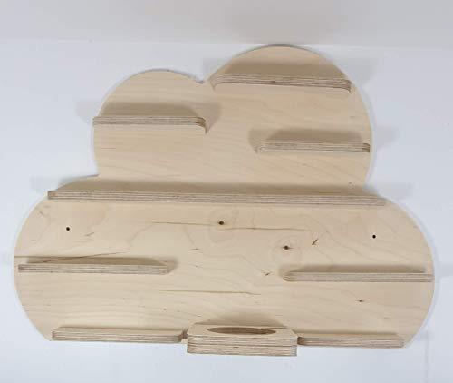 DIY Tonie Board, Wolke, ideale Aufbewahrung für Tonie Box und Tonie Figuren, Kinderzimmer Regal, Deko Board, Musikboxaufbewahrung, Hängeregal