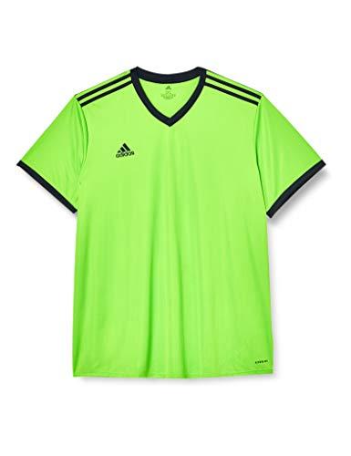 Adidas TABELA 18 JSY T-shirt, Hombre, Semi Solar Green/ Black, M