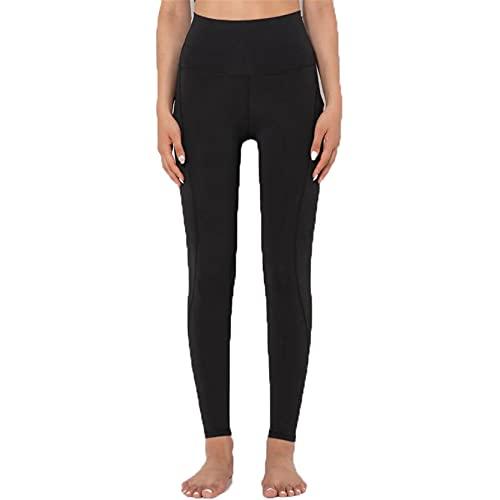 Leggins Mujer Push Up Pantalones Fitness Mallas, Mujeres Desnudas for Mujer a Prueba de Sentadillas a Prueba de Cintura Altas Leggings de Culo Pantalones de Yoga Pantalones de Control de la Abdominal