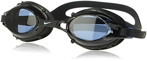 NIKE Kids' Big Youth Fusion Swim Goggle, Black, One Size
