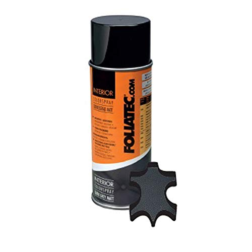 Foliatec F2009 Interior Color Spray-Dunkel Grau Matt 1x400ml