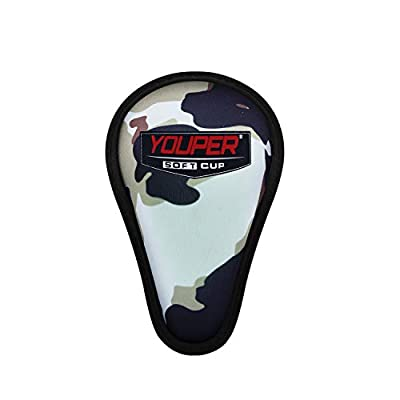 Youper Boys Youth Soft Foam Protective Athletic Cup (Ages 7-12), Kid Athletic Cup for Baseball, Football, Lacrosse, Hockey, MMA
