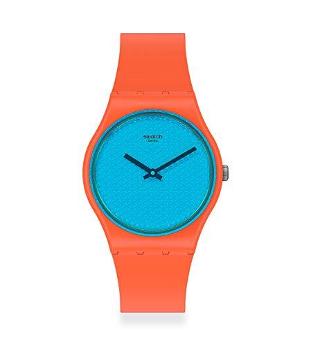 Swatch Reloj Unisex Adulto de Cuarzo analógico con Correa en plástico GO121