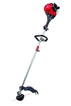 Craftsman CMXGTAMD30SA 30cc 4-Cycle 17-Inch Straight Shaft Gas Powered String Trimmer and Brushcutter-Weed Wacker with Attachment Capability for Lawn Care Liberty Red