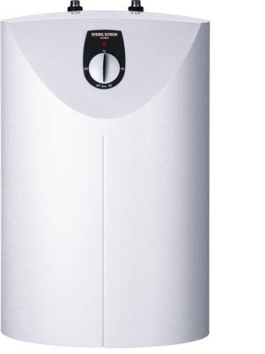 STIEBEL ELTRON Kleinspeicher SHU 10 SL, 10 l, 2 kW, druckfest, Untertisch, stufenlose Temperaturwahl über Drehwähler, Frostschutzstellung, 229472