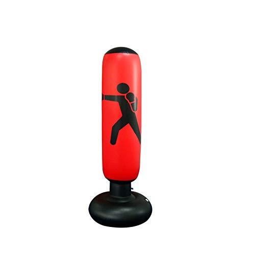 Saco de boxeo (rojo).