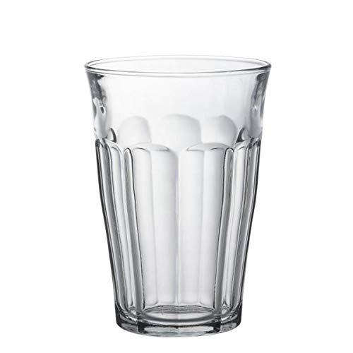 Visiodirect Lot de 24 gobelets Transparents en Verre - 50 cl