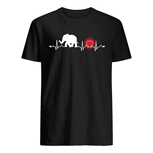 Vinsaco Eelefante rojo corazón camiseta