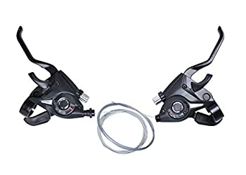 ST-EF51-7 3x7 21/24Speed MTB Bicycle Bike Left Right Brake Lever Shifter Set,3 x 7 Speed Shift/Shifter Brake Lever Combo,Bicycle Trigger Shifter 3x7  2 Pcs