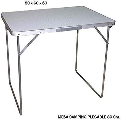 FineHome XXL Campingtisch Klapptisch Gartentisch Camping Universaltisch Reisetisch Aluminium h/öhenverstellbar 100x60x75//80//85//90cm