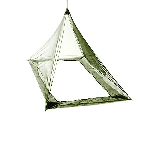 Ridecle Campeggio all'aperto Zanzara da Campeggio Tenuta Insetto Away Tenda a Zaino in Backpacking per Letto Singolo Camping Anti Zanzare Tenda Tenda Tenda Decorazione