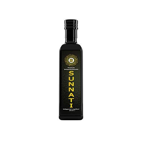 Sunnati® Ägyptisches Schwarzkümmelöl Ungefiltert, kaltgepresst, rein 250 ml