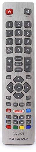 Orginale Fernbedienung passend für Sharp TV LC-32CFF6001K | LC-32CFF6001K | LC-32FI3322E | LC-32FI3322E | LC-32FI3522E | LC-32FI3522E | LC-32HI3222EW | LC-32HI3322E | LC-32HI3422E | LC-32HI3422E