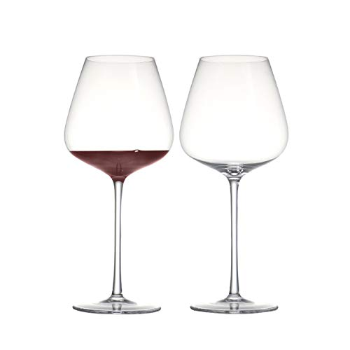 RAITL Conjunto de □ 2 900 ml Copas de Vino Tinto de Cristal sin Plomo de 900 ml...