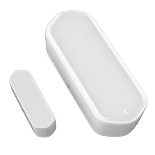 Toygogo Sensor Inteligente Del Contacto de La Superficie de La Puerta de La Ventana de La Alarma Antirrobo Inalámbrica Del Hogar de La Oficina